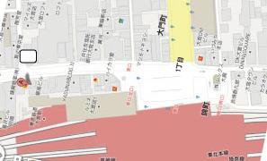グーグルの地図画像