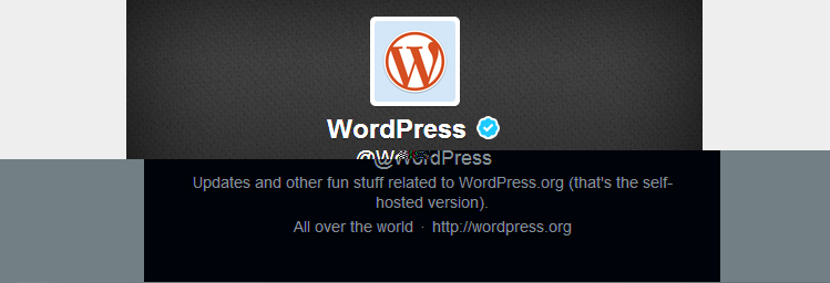 WordPress @WordPress