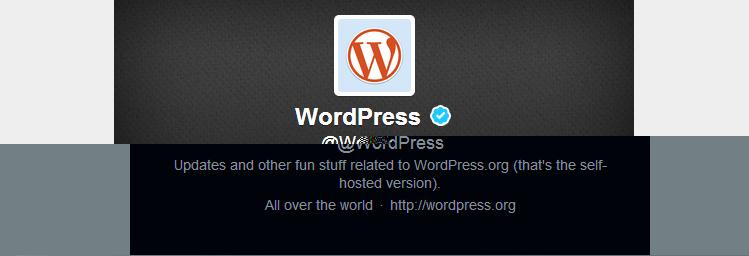 WordPress @WordPress