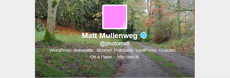 Matt Mullenweg @photomatt