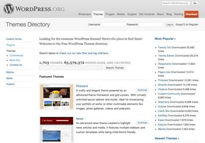 WordPress.org 公式テーマディレクトリ